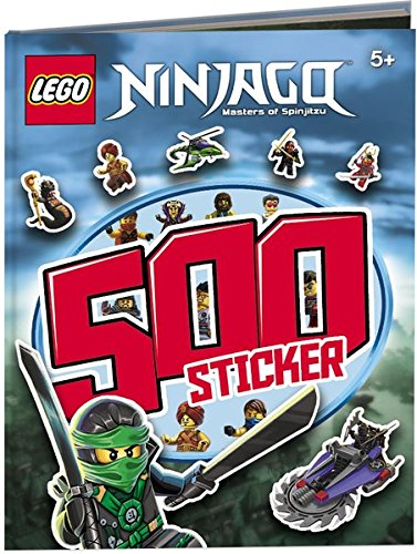 LEGO Ninjago: Das Riesen Rätsel-Stickerbuch mit 500 Stickern