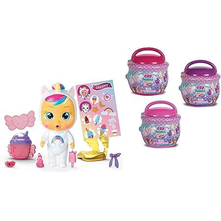 IMC Cry Babies Magic Tears caseta Chupete 6 Ass. + 1 Pantalla Raro de 12 Piezas, Multicolor, 8421134091061