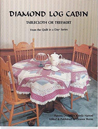 Diamond Log Cabin: Tablecloth or Treeskirt