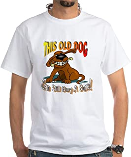 This Old Dog White T Shirt Cotton T-Shirt