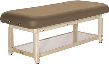Custom Craftworks Aura Basic Stationary Massage Table, Otter