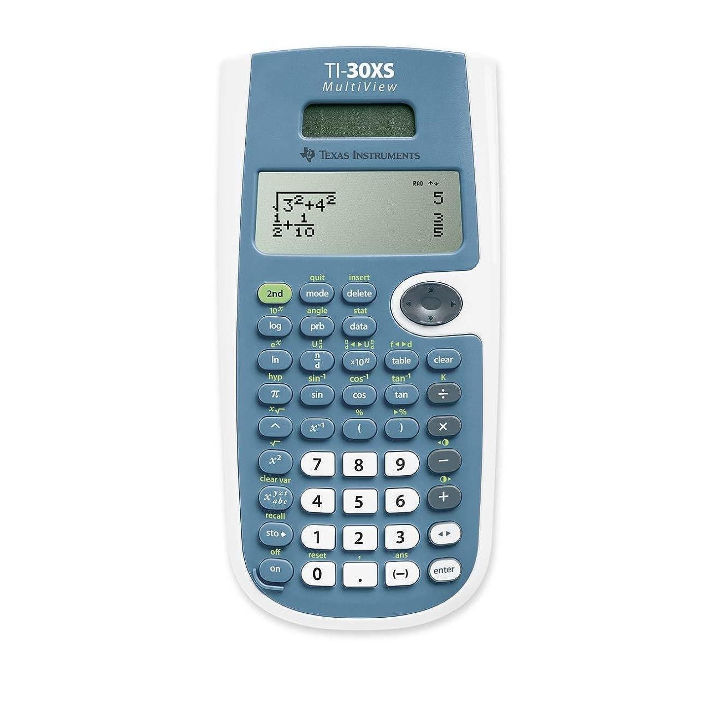 争い動かす霧深いTEXTI30XSMV - Texas Instruments TI-30XS マルチビュー電卓