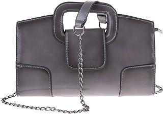 Women Solid Color Shoulder Bags Satchel PU Leather Crossbody Messenger Tote Purse