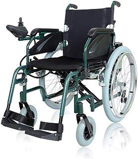 Inicio Accesorios Sillas de ruedas eléctricas para personas mayores discapacitadas Ligero inteligente Transporte plegable Manual eléctrico Silla de ruedas duradera de doble uso Material de aleación