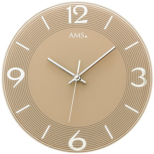 AMS Geräuschlose Uhren 9572