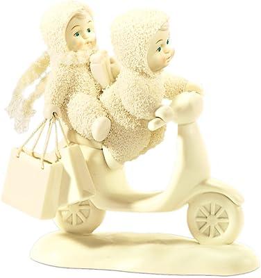 Department 56 Snowbabies Pastimes Shopping Spree Figurine