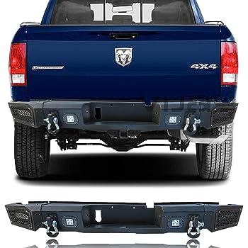 Amazon Com Smittybilt 614800 M1 Rear Trunk Bumper For Dodge Ram 1500 2500 3500 Automotive