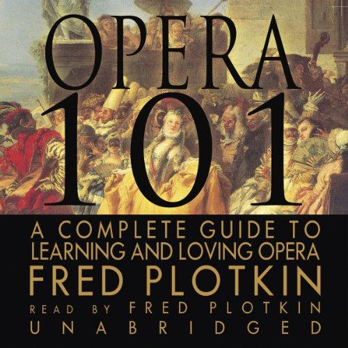 Opera 101 audiobook cover art