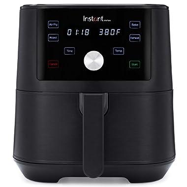 Instant Vortex 4-in-1 Air Fryer, 6 Quart, 4 One-Touch Programs, Air Fry, Roast, Bake, Reheat