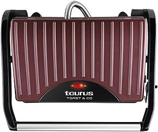 Taurus Toast & Go - Sandwichera (700 W, superficie