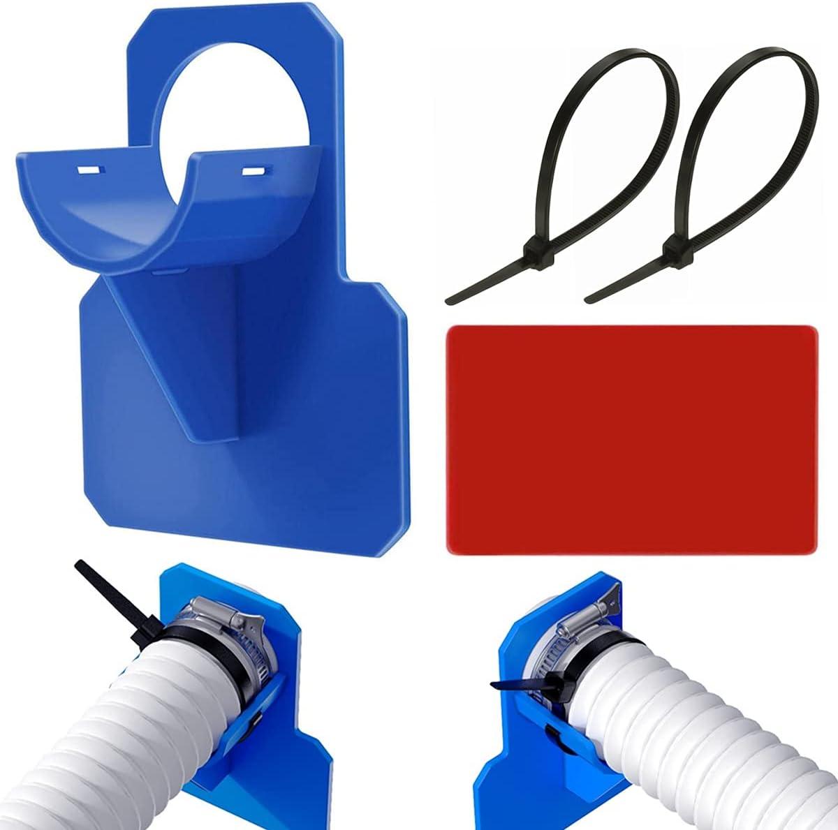 Soportes para Tubos de Piscina, Soporte para Tubos de Piscina para Intex y Bestway, para Tubos 30-37 mm, Soporte Manguera Piscina Accesorios