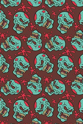 Zombie Notizbuch: Zombie Cover Design / 120 Seiten / Kariert / DIN A5 + / Soft Cover / Optimal als Tagebuch, Bullet Journal, Malbuch, Skizzenbuch usw.