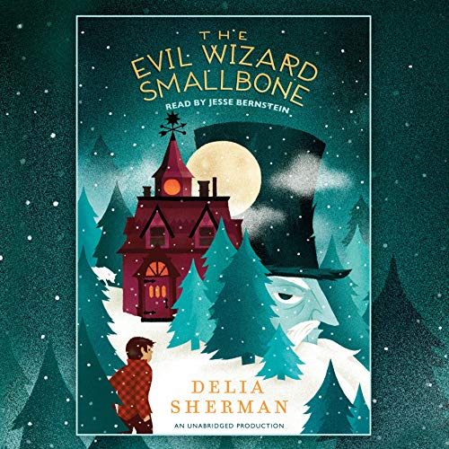 The Evil Wizard Smallbone audiobook cover art