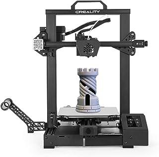 Creality 3D CR-6 SE ترقية طابعة عالية الدقة 3D DIY كيت الطباعة الحجم 235 * 235 * 250MM مع 4.3in HD اللون لمس الصامت اللوحة...