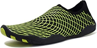 Beach Water Shoes,Slippery Shoes Outdoor Shoes,Ultra-Light Wading, Quick-Drying Unisex Shoes Swimming Shoes,Green,40