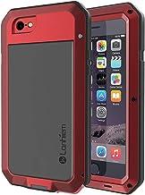 Lanhiem Funda iPhone 6 / 6S, [Rugged Armour] Antigolpes Metal Estuche Protectora, Absorción de Choque y Duradera Fundas con Protector de Pantalla Vidrio Carcasa para 4.7