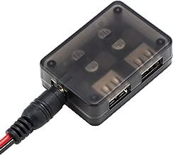 USB Charging Module, DROK Dual USB Fast Charge Board Auto Buck Converter DC-DC 6-30V 12V 24V to 5V 9V Voltage Step Down Regulator Car Volt Transformer