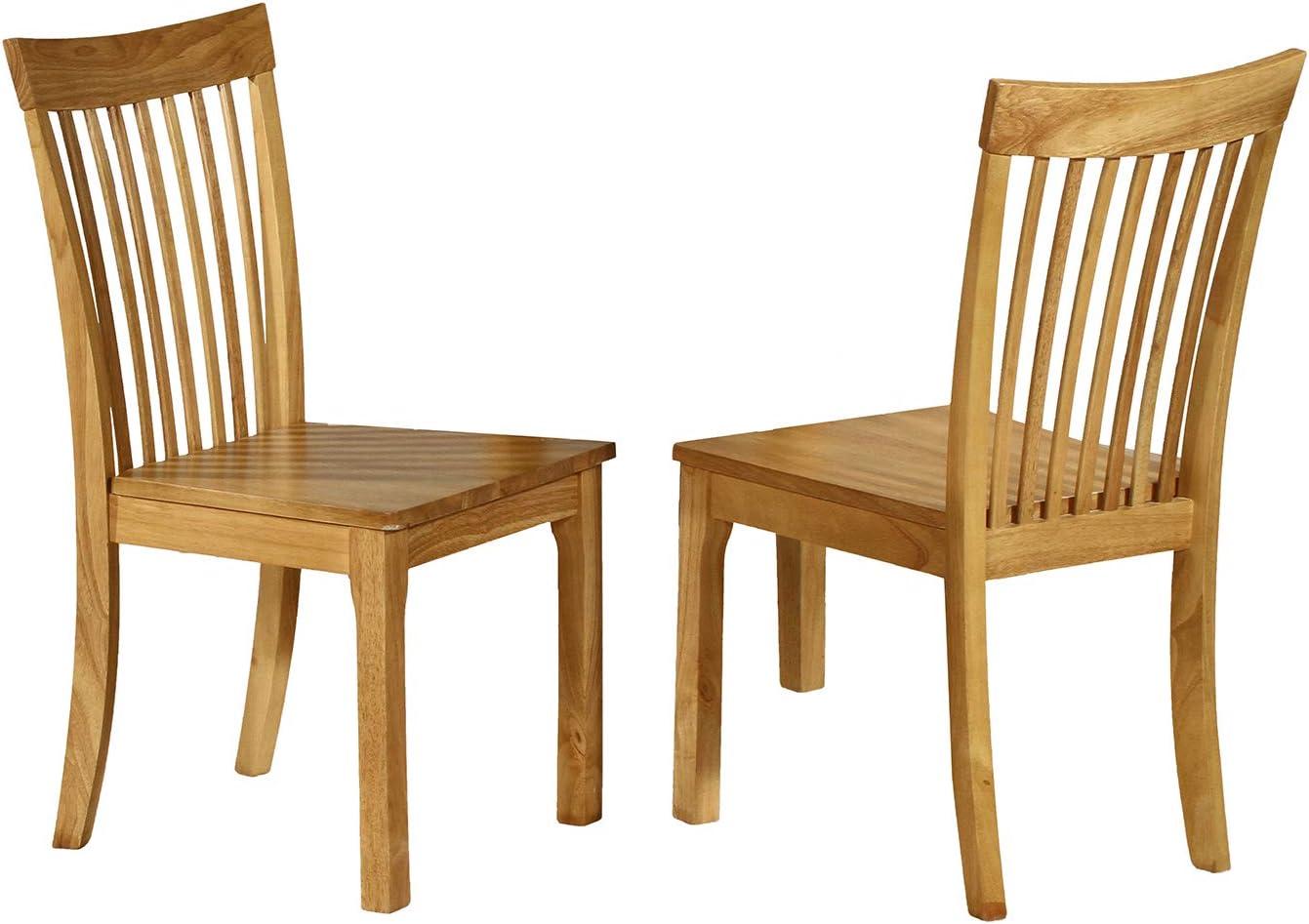 期間限定お試し価格 Kings Brand Furniture 供え - Kurmer Solid Chair Dining Room Wood Side