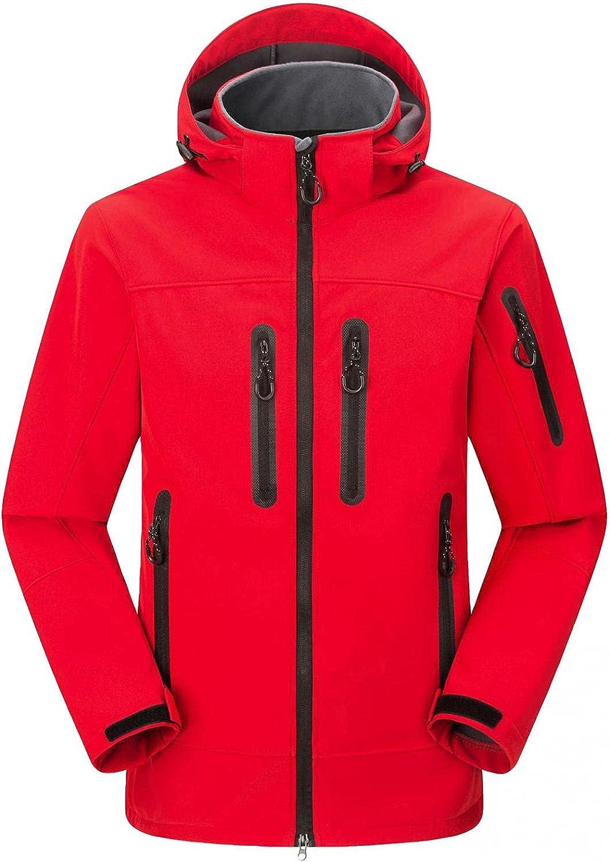 Womens Plush Lightweight Waterproof Rain Jacket Active Outdoor Hooded Windbreaker Pocket Quick Drying Coat Plus Size