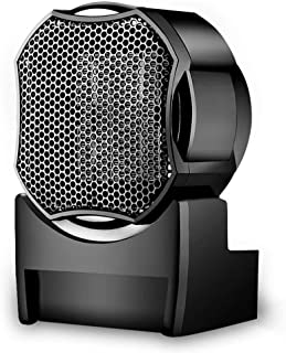 SYR&FJ Calefactor Portátil Eléctrico,PTC Elemento De Cerámica para El Hogar, Oficina, Dormitorio 500W