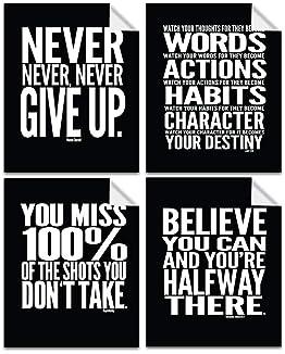 Motivational Work 533 Motivation Inspiration Quote Poster Gym Body Sport Train