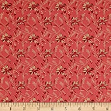 Andover 0575223 Sequoia Buds and Vines Pinkberry Fabric by the Yard