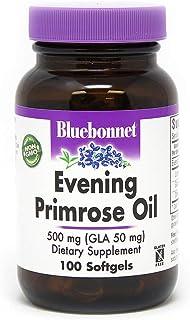 BlueBonnet Evening Primrose Oil Softgels, 500 mg, 100 Count (743715009189)