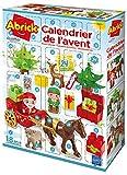 Ecoiffier- Abrick-Calendario dell'Avvento-Tema Villaggio di Babbo Natale-da 18 Mesi-Fabbricato in Francia, 3280