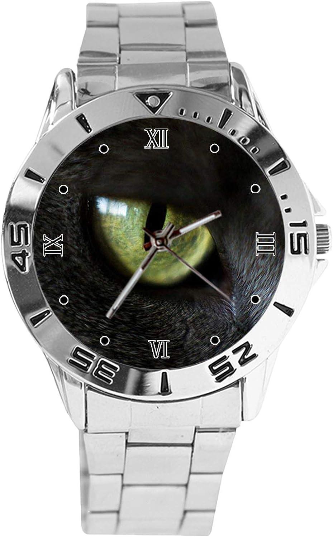 The Eye Latest item Max 64% OFF Design Analog Wrist Watch Sta Silver Classic Quartz Dial