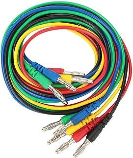 Bananendraht, p1043 4mm Bananenstecker Kabel Testleitung, Spritzguss Stecker, Messleitungen für Multimeter
