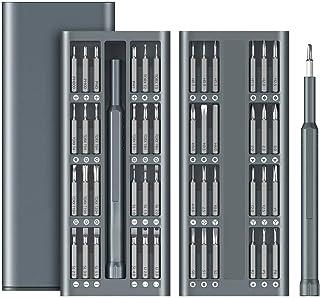 Sponsored Ad – Precision Screwdriver Set, 49 in 1 Electronics Repair Tool Kit, Aluminum Handle S2 Tool Steel Driver Bit, P...