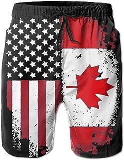 Best canadian flag mens bathing suit Reviews