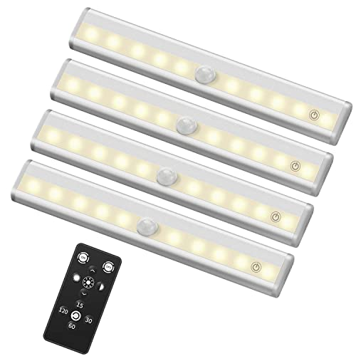 Exceptionnel SZOKLED Remote Control LED Lights Bar, Wireless Portable LED Under Cabinet  Lighting, Dimmable Closet