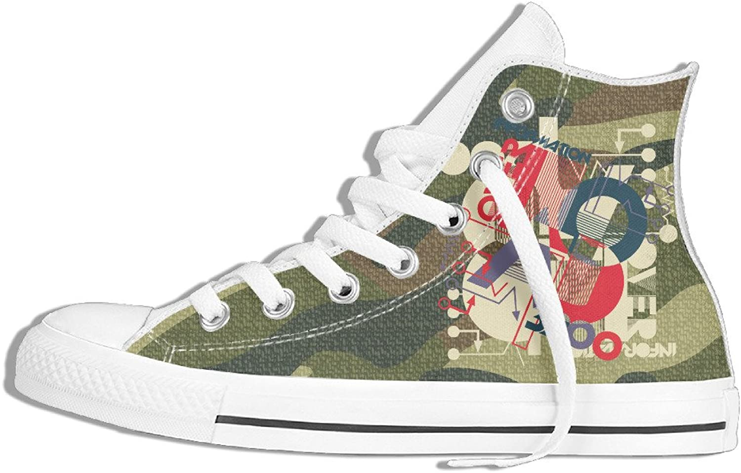 Yo Ou Patterns Clipart High-Top Sneaker Plimsoll