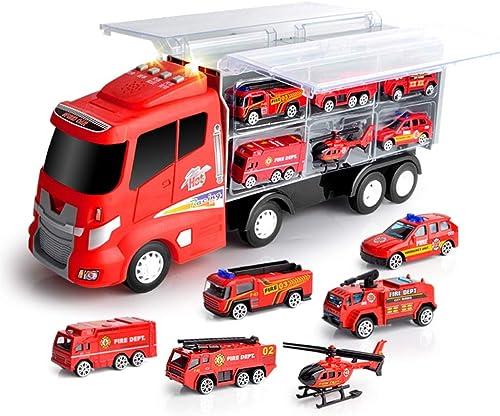 Envíos y devoluciones gratis. Yingjianjun Camión de Bomberos para vehículos de construcción Modelo Modelo Modelo de Juguete, contenedor de Ropa Camión de Juguete - Niño Niño Juguete Navidad, Regalo de cumpleaños (Style   1)  disfruta ahorrando 30-50% de descuento