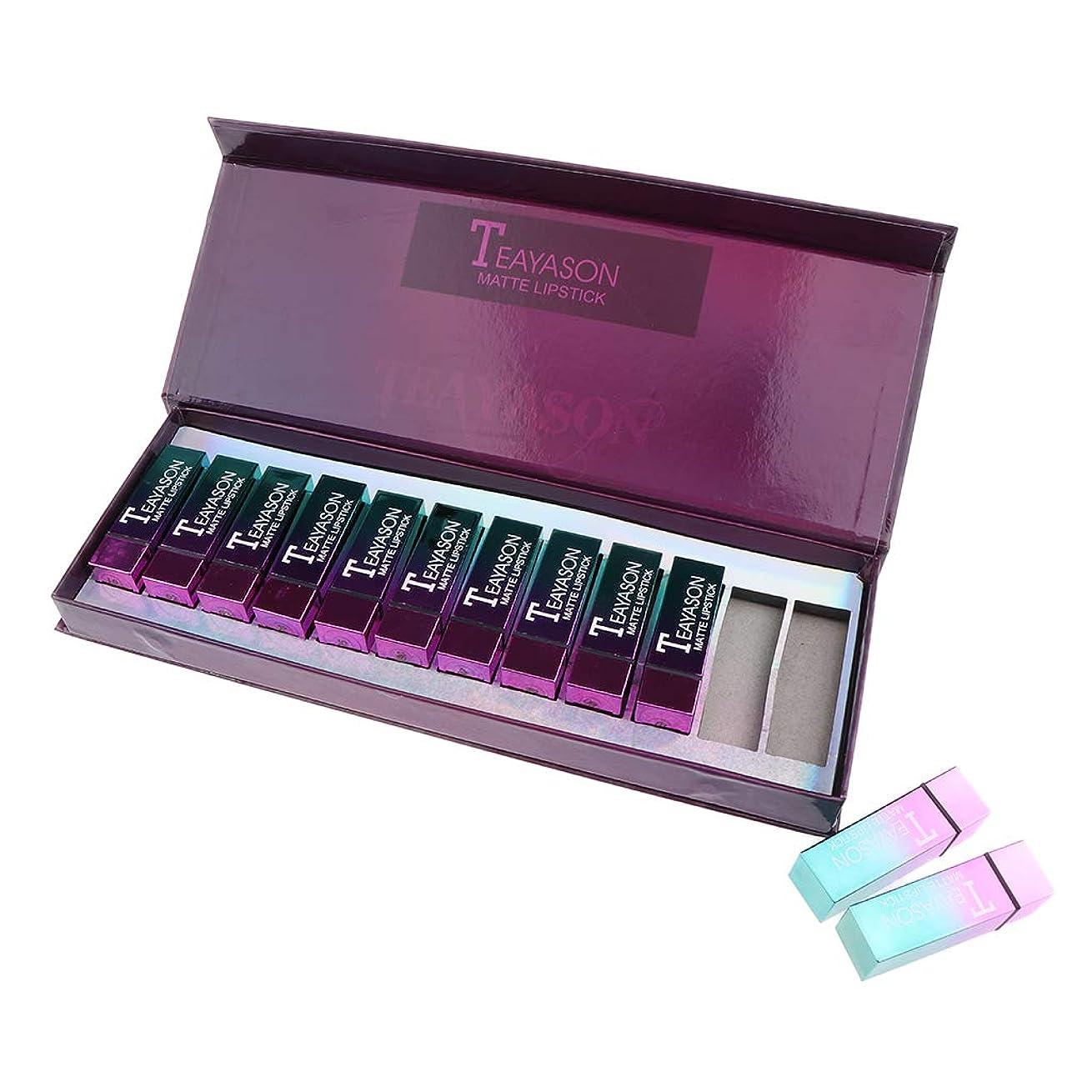 地雷原孤独なあご12色セット 防水 口紅 リップライナー 唇メイク 化粧 プレゼント