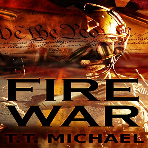 Fire War audiobook cover art