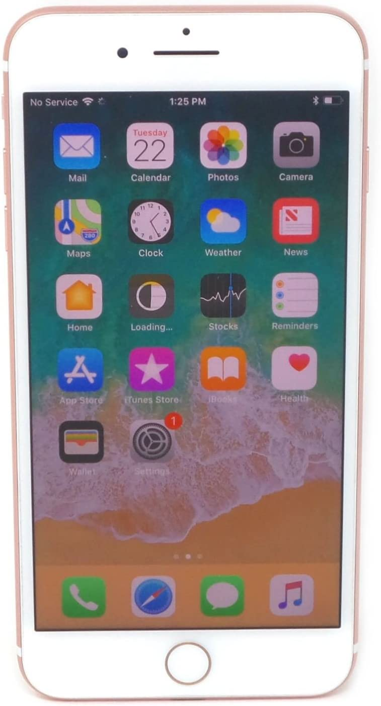 Apple iPhone 7 Plus, US Version, 32GB, Rose Gold for AT&T (Renewed)