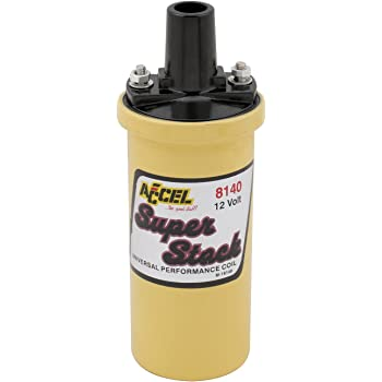 Amazon.com: ACCEL (ACC 8140) Performance Universal SuperStock Coil:  AutomotiveAmazon.com