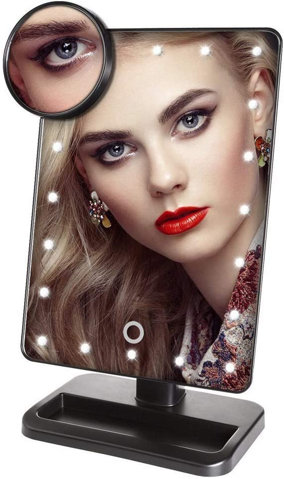 KXA Lighted Makeup Recommended Mirror 16 Fixed price for sale Cosmetic D Touch Screen LED