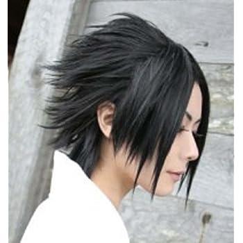Amazon Com Topbill Anime Naruto Sasuke Uchiha Cosplay Wigs Beauty