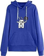 ErYao Feed Me Coffee Women Hoodie Sweatshirt Winter Casual Long Sleeve Blouse Pullover Tops with Pocket