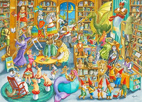 Ravensburger 16455 Puzzle Midnight in The Library, 1000 Teile für Erwachsene & Kinder ab 12 Jahren