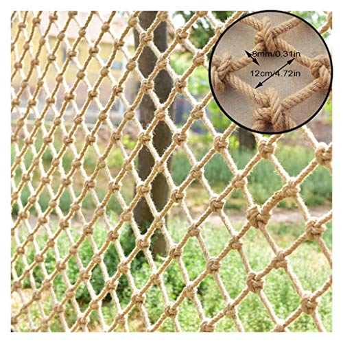 Camo Netting Hemp Rope Safety Net Safe Stair Net For Kids Wall Partition Tarpaulin Outdoor Climbing Hammock Swing Indoor Fence Balcony Roof Photography (Size : 1x5m)