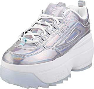 Fila Disruptor II Wedge IRI Womens White/Multi Trainers