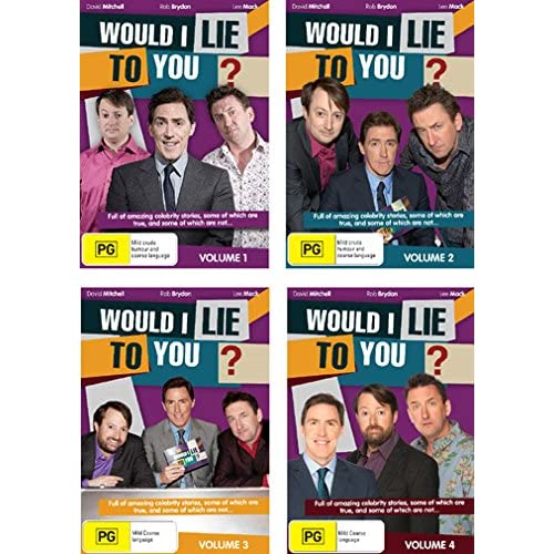 Would I Lie to You? - Vol. 1-4 (37 Ep.) - 8-DVD Box Set ( Would I Lie to You? - Volumes One, Two, Three & Four )