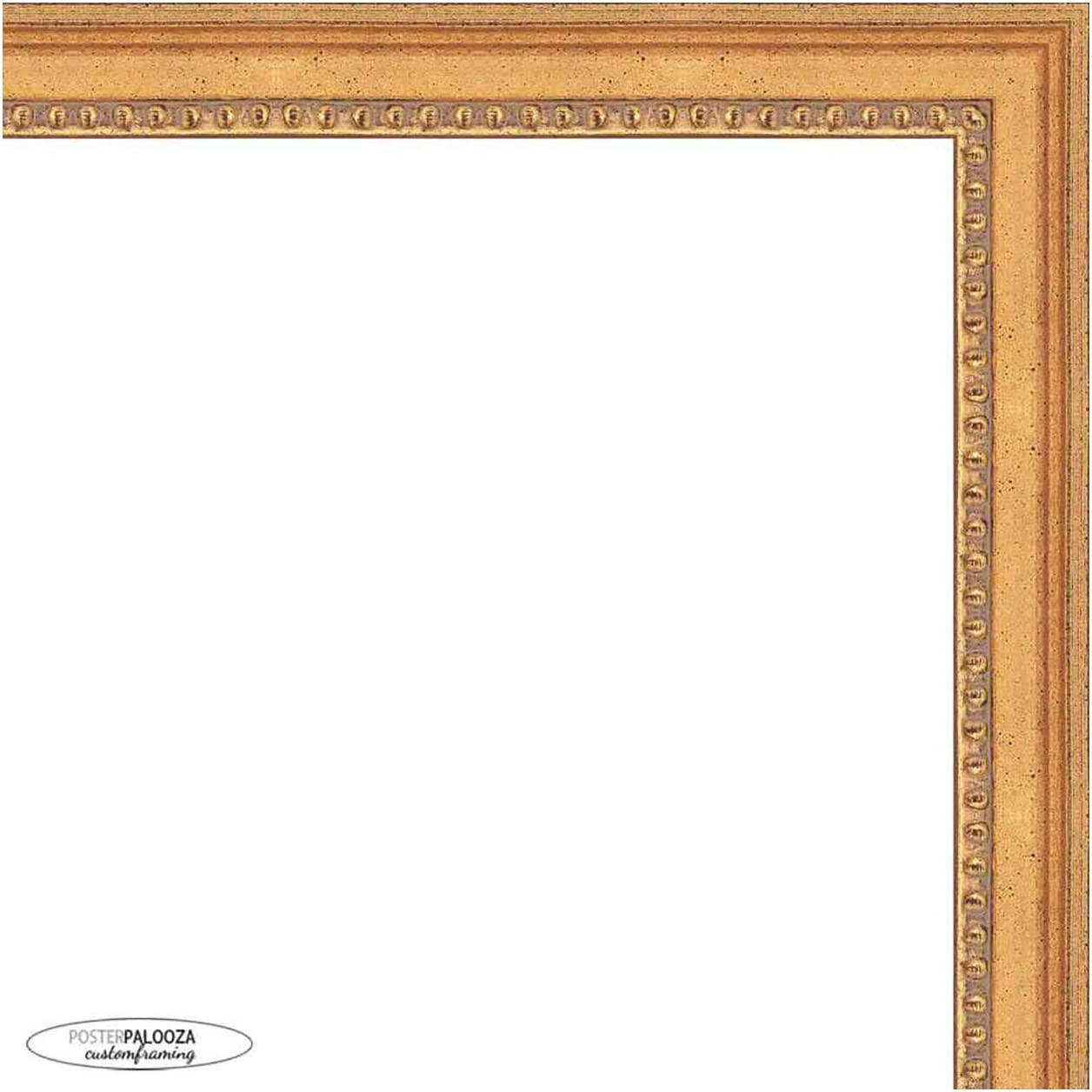 Poster Palooza 16x14 Traditional Discount mail order Gold Complete Max 72% OFF Fram Wood Picture