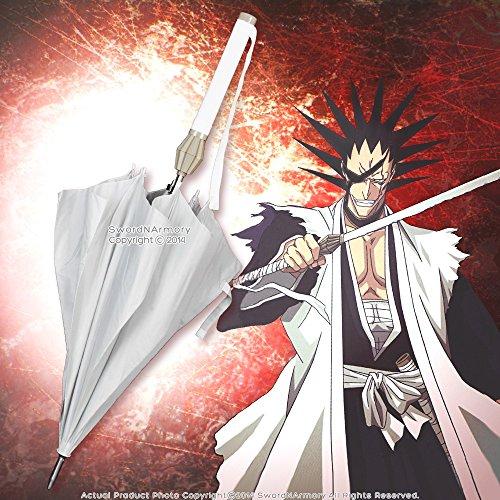 Licensed Bleach Sword Umbrella Zaraki Kenpachi Nozarashi Zanpakuto Anime Cosplay