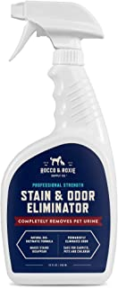 Rocco & Roxie Professional Strength Stain & Odor Eliminator - Enzyme-Powered Pet Odor & Stain Remover for Dog and Cats Uri...