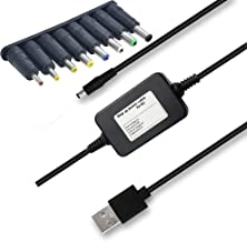 Step Up Converter,MICGOGO USB DC 5V to 9V Step-Up Power Transformer Cable with Barrel Jack Booster Module (5V-9V)